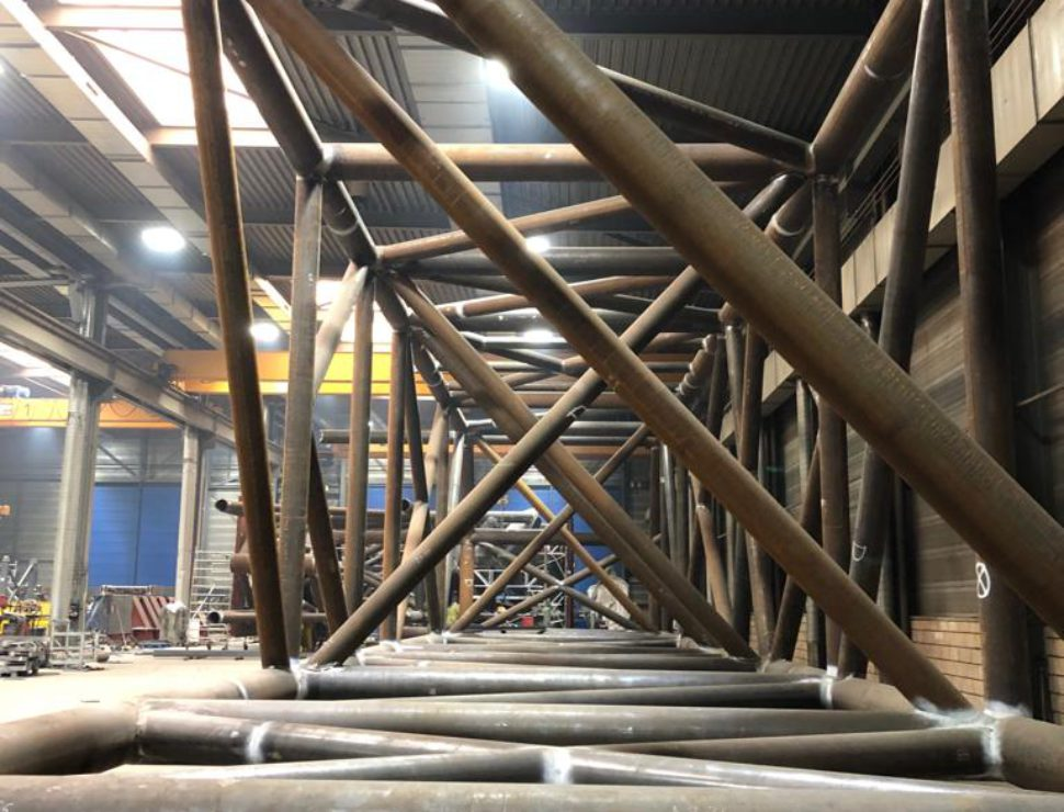 Template Assembly Moray East