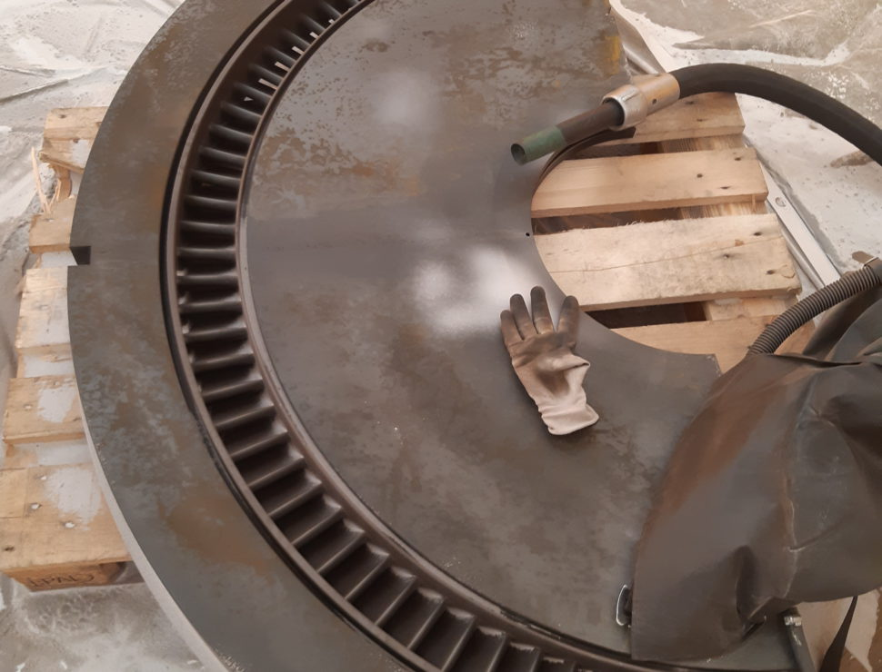 Stralen stoomturbine